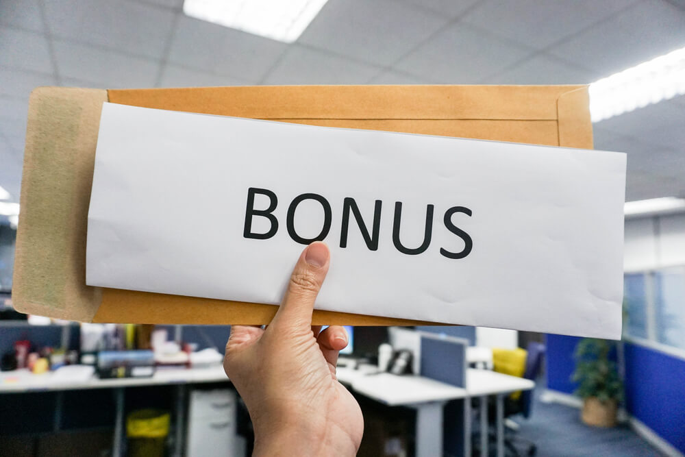 bonus to the employees